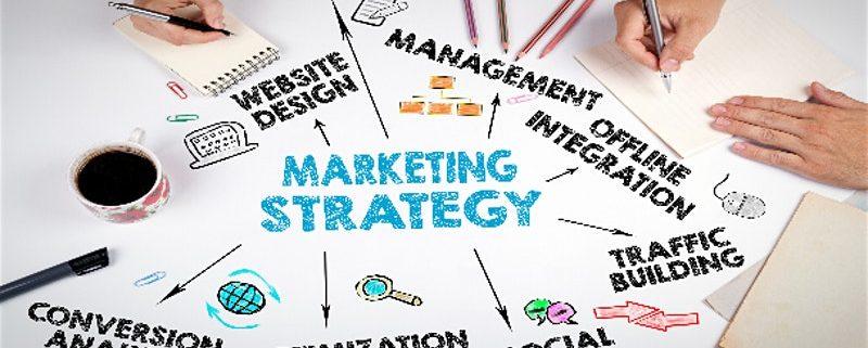 Online Marketing Tools and Platforms Diagram